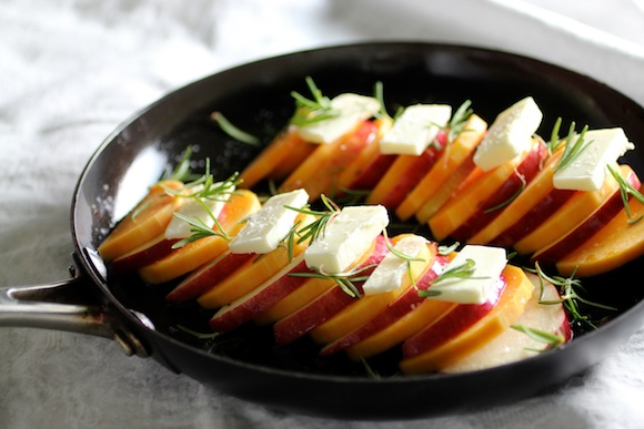 Demilune of Baked Butternut Squash & Apple with Truffle Honey & Rosemary