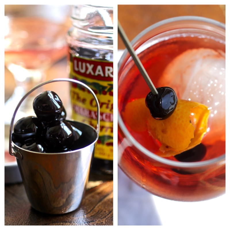 The Evolving Manhattan Cocktail With Luxardo Ice Sphere
