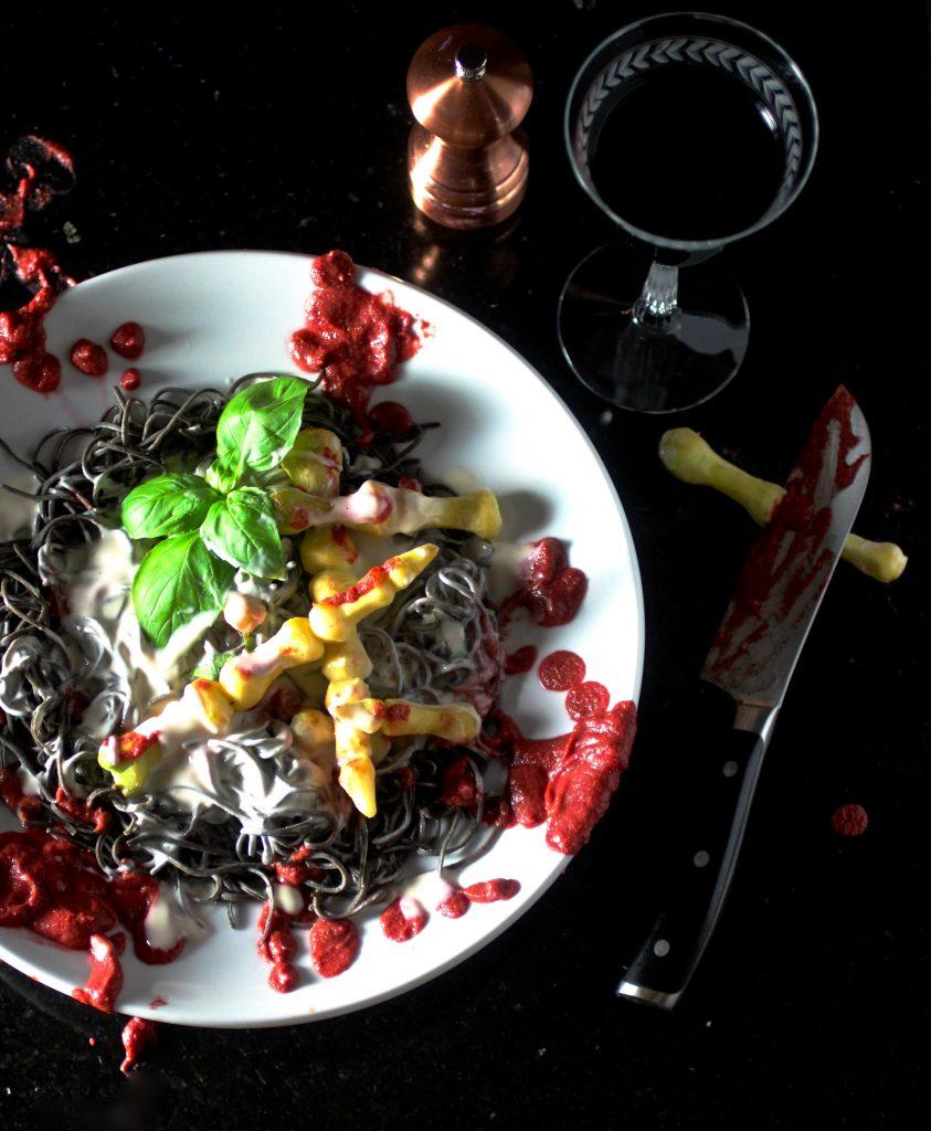 Spaghetti AFRAID-O with White Carrot Phalanges