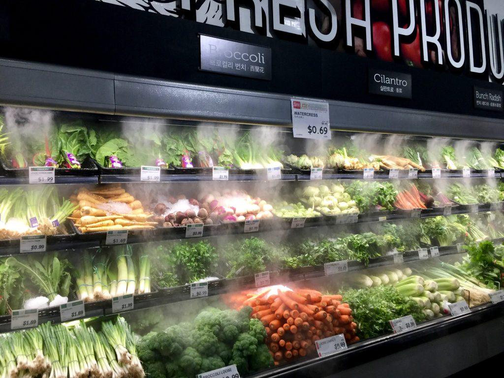 Produce at H Mart