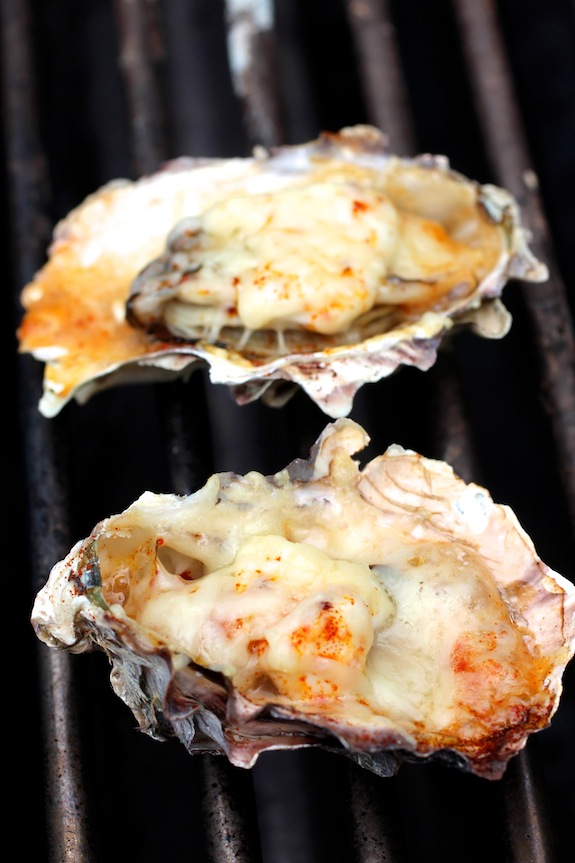 Grilled Oyster – Parmesan, Mayo, Smoked Paprika