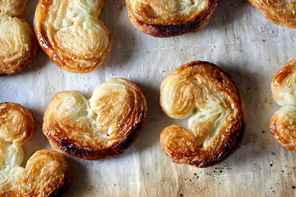 Sweet & Salty Palmier Cookies