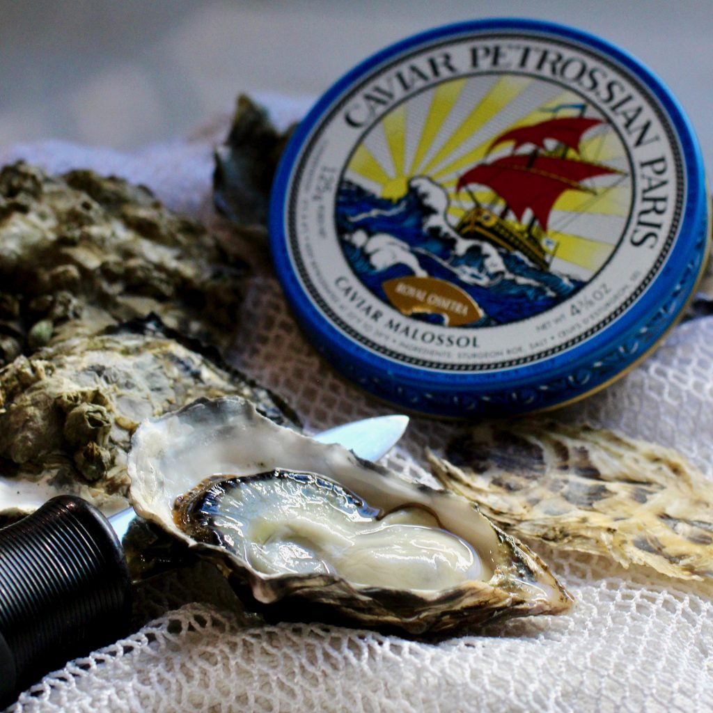 Holiday Entertaining: Oysters with Caviar
