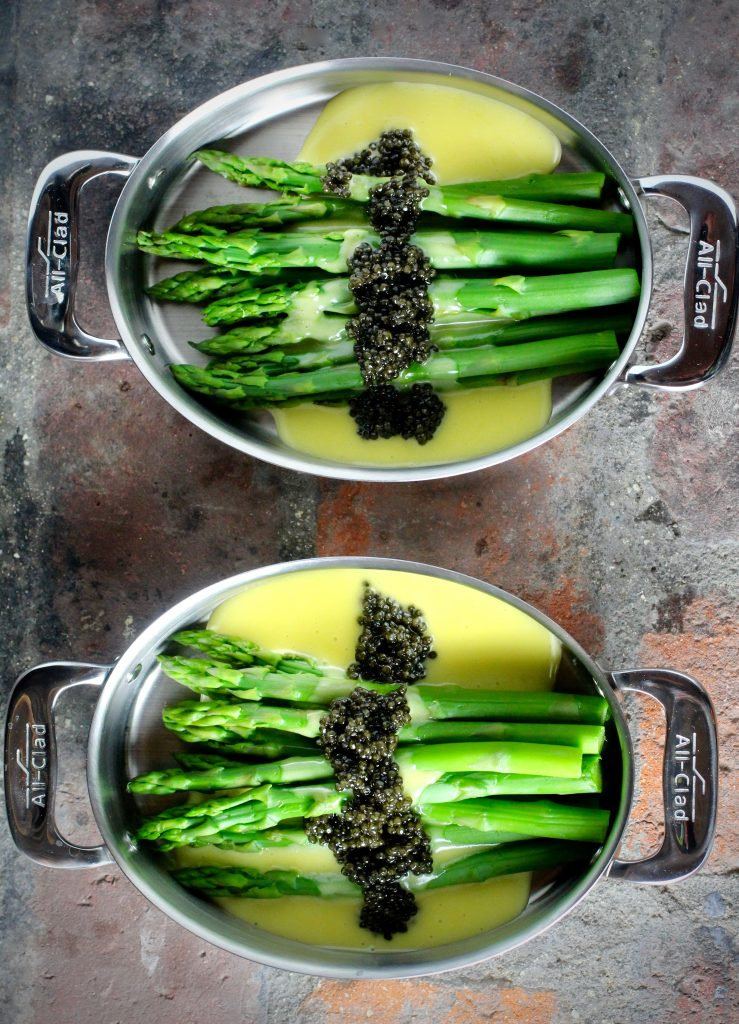 Holiday Entertaining: Asparagus, Hollandaise, Caviar