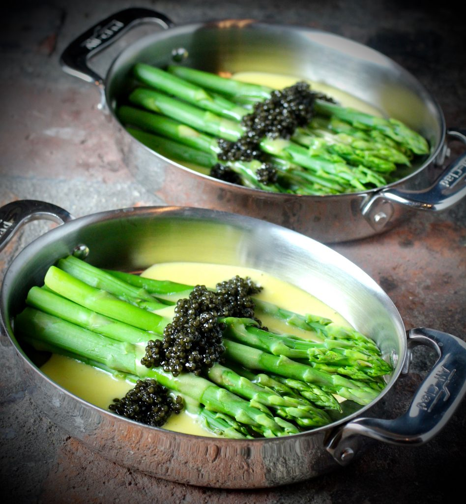 Holiday Entertaining: Asparagus, Hollandaise, Caviar - Taste With The ...