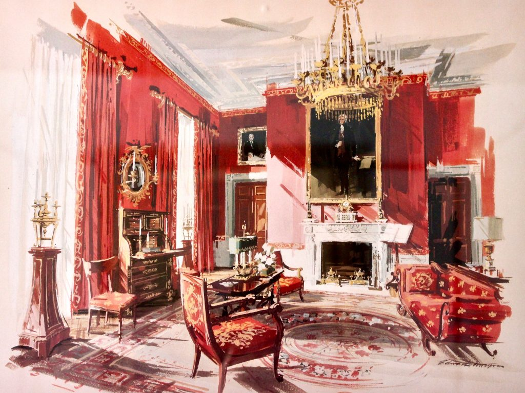 The Red Room by Edward Lehman