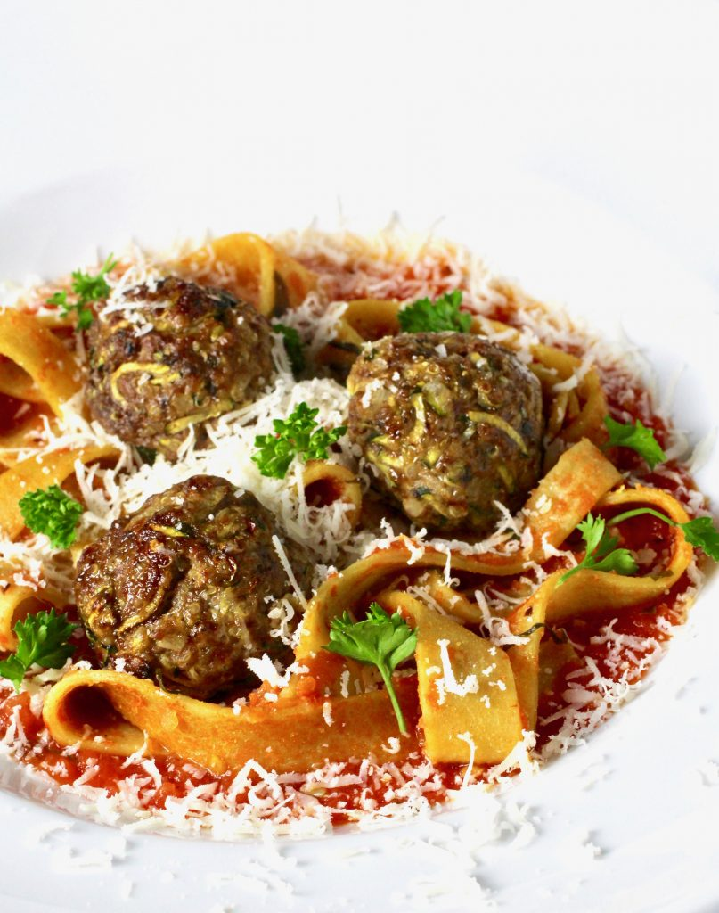 Spaghetti and Meatballs, Reimagined - Taste With The Eyes