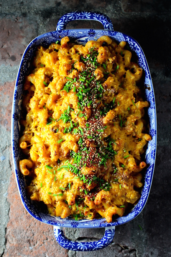 Korean Macaroni and Cheese