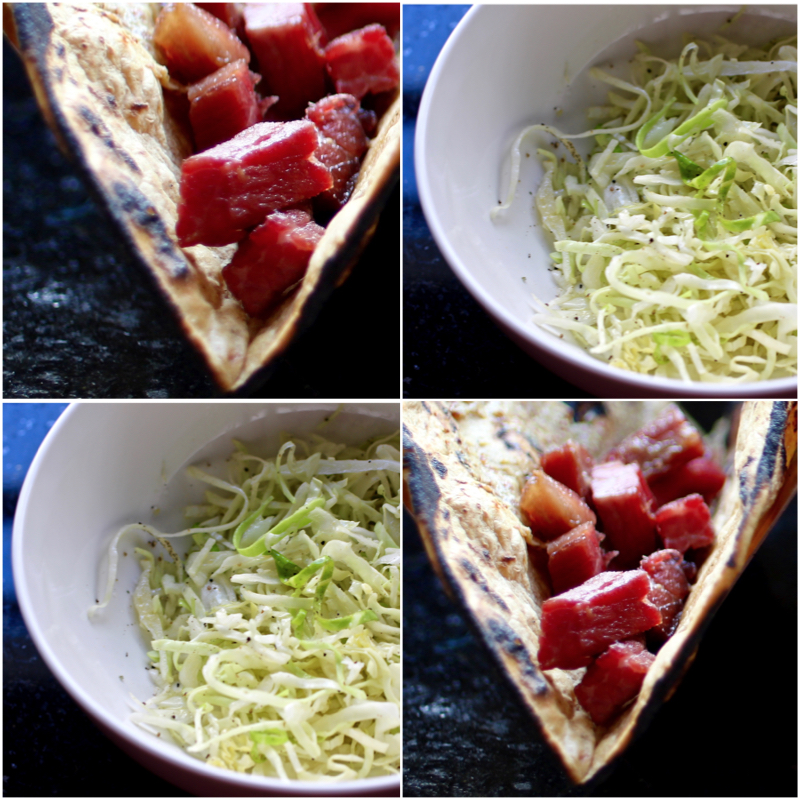 Corned Beef and Cabbage Tacos