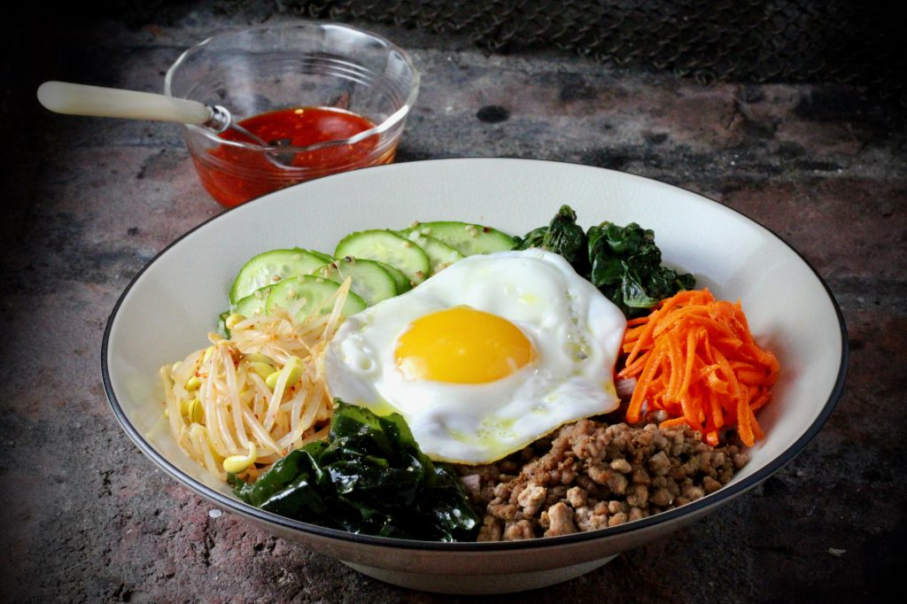 how to cook bibimbap sauce