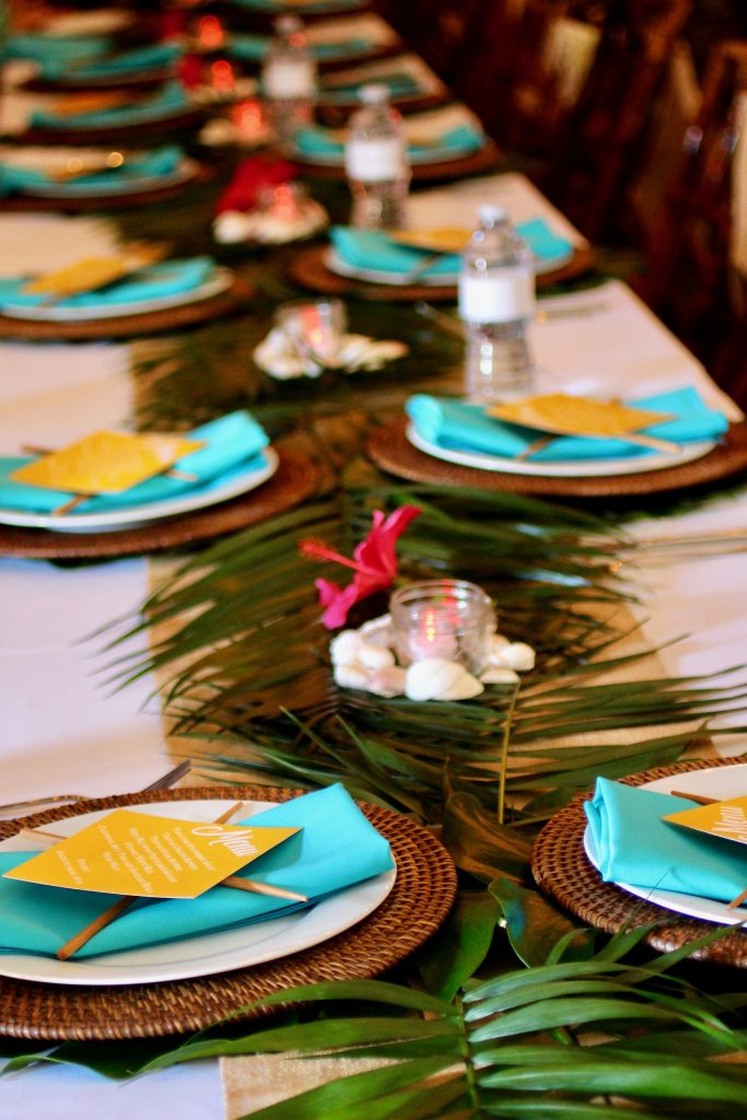 Teacher Appreciation Luncheon - Hawaiian Theme! Aloha & Mahalo!