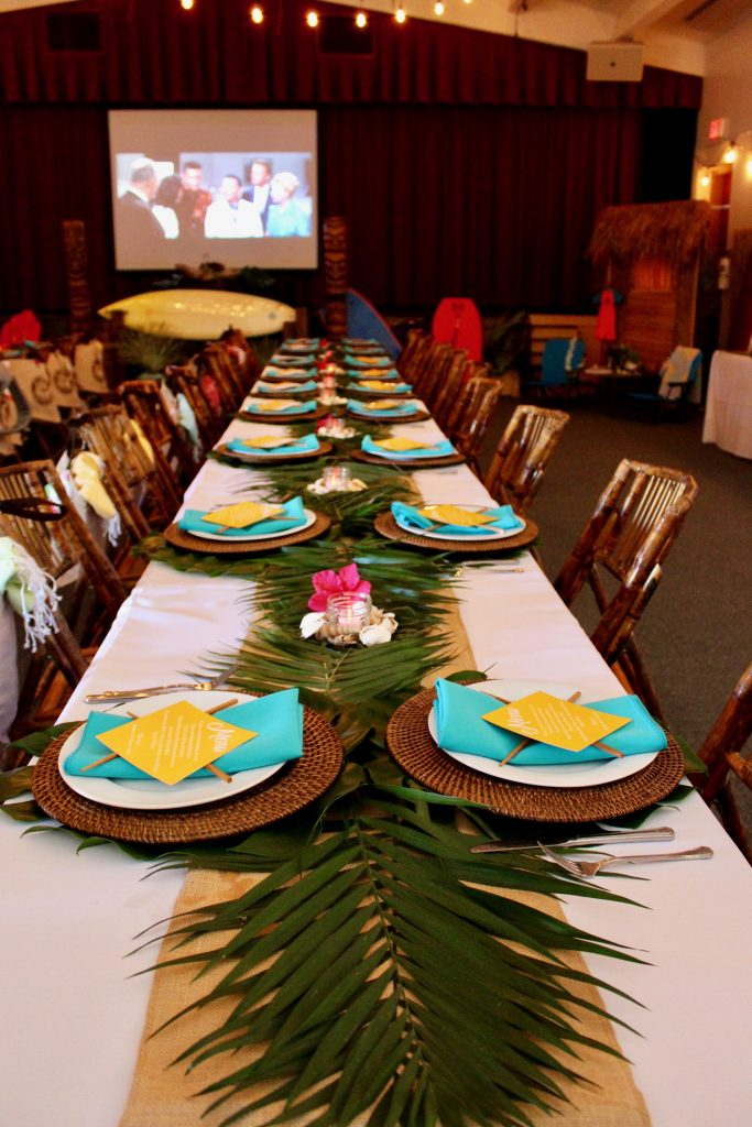 Teacher Appreciation Luncheon - Hawaiian Theme! Aloha!