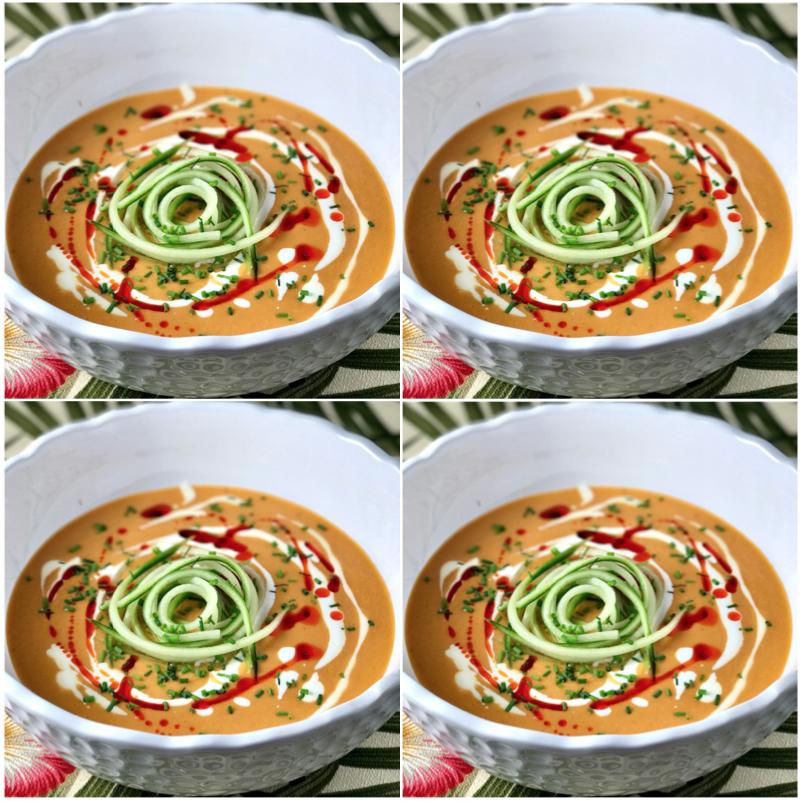 Spanish Chilled Tomato Soup aka Salmorejo