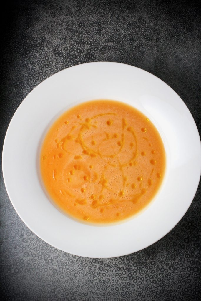 Chilled Cantaloupe Soup Recipe