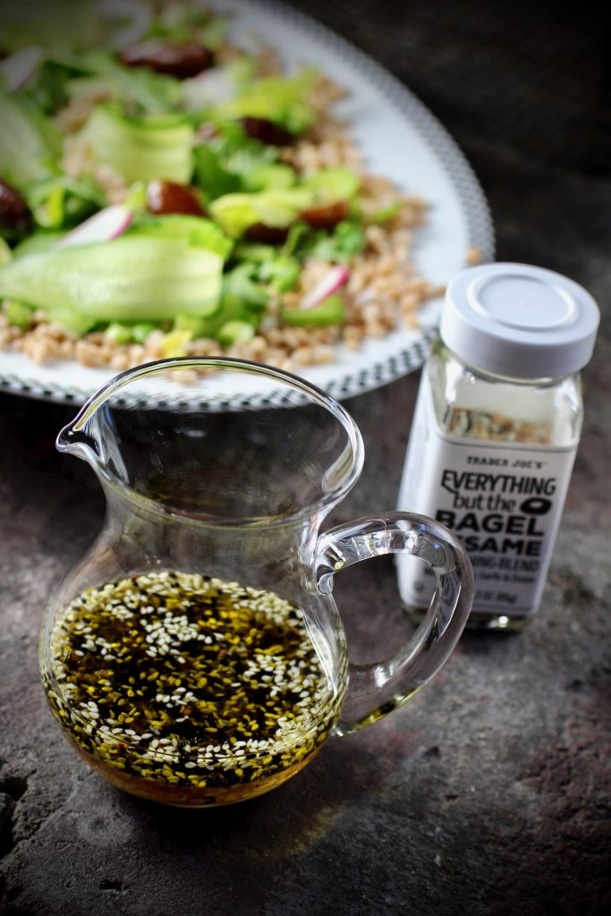 Everything But The Bagel Vinaigrette