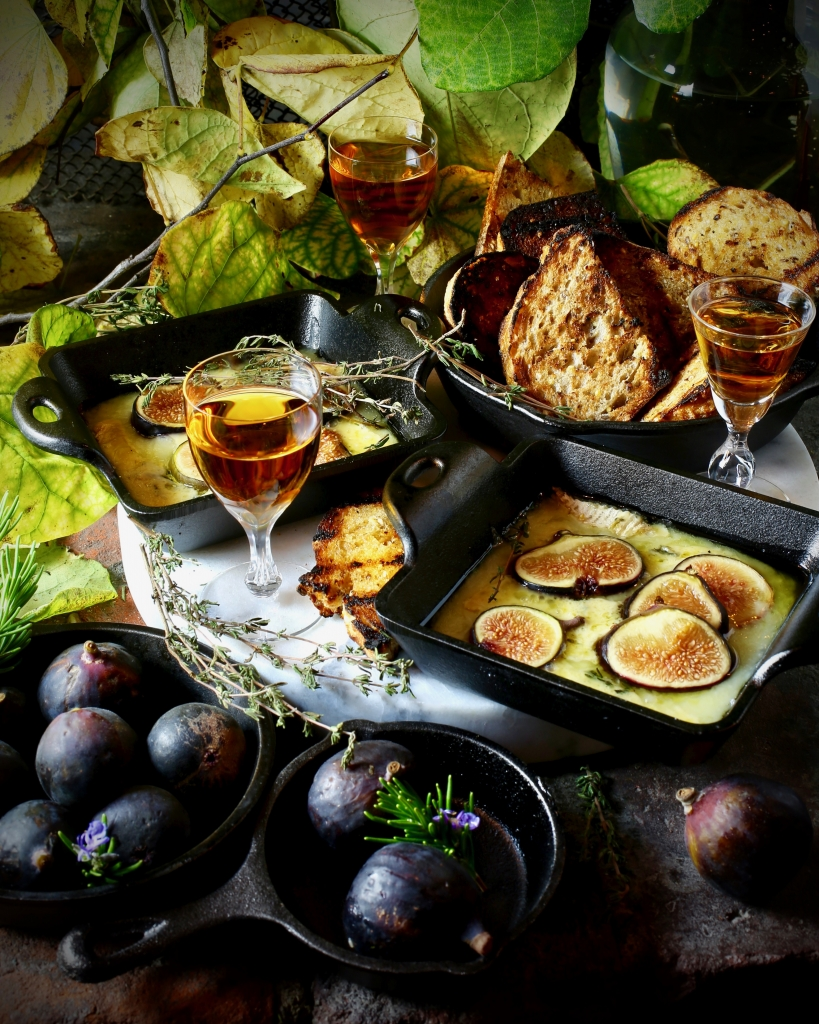 Happy Hour: Figs, Cheese, Sherry