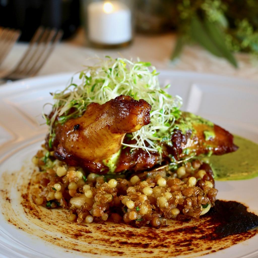 Chef Bernard Ibarra's Moroccan Spiced Free Range Chicken
