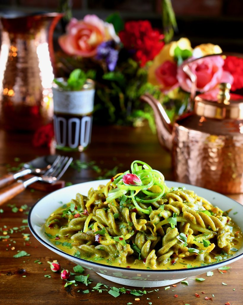 Mung Bean Lovers' Pasta